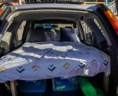 How we built our Honda CR-V sleeping platform and why you should turn your car into a camper