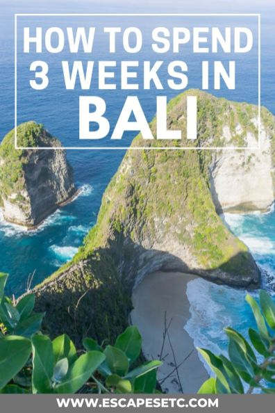 Planning a trip to Bali but not sure where to start? Here's my 3 week itinerary for Bali, perfect for first timers. #baliguide #3weeksinbali #baliitinerary #nusaislands