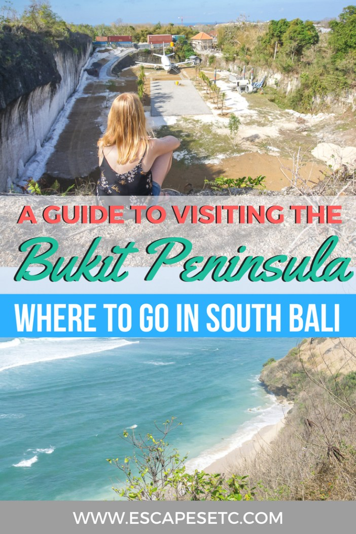 Planning a trip to Bali and want to explore the south? The Bukit Peninsula is full of things to do. Find out where to go and what to do in my guide here. #bali #bukitpeninsula #legian #uluwatu #nusadua #wheretostayinbali #thingstodoinbali