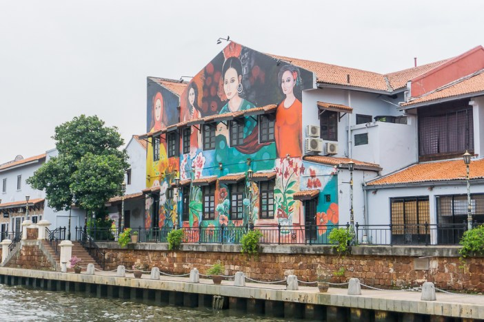 10. Go in search of street art It came as a bit of a surprise to see so much street art in Melaka. Whilst Penang is famous for it in Malaysia and quite literally everywhere, Melaka also has its own burst of colour ready to jump out at you. There's quite a lot of artworks along the river but you'll also find pieces down many of the smaller streets too, so the easiest way to find it is to just wander around!