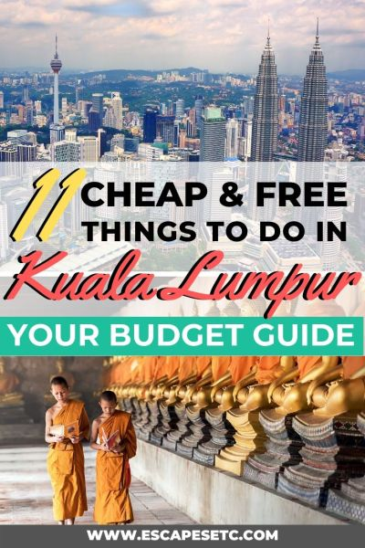 Planning a trip to Kuala Lumpur on a budget? Good news, Kuala Lumpur is a great city to explore without having to spend tonnes of money. Find out what there is to do in my guide here. #kualalumpur #malaysia #visitkualalumpur