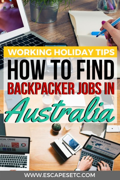 Are you travelling to Australia on a working holiday visa and want to find a job? How to find a job as a backpacker in Australia was something that worried me but after finding work, I've got some top tips for you! Take a look here to find tips on how Ito find backpacker jobs, based on my own experience. #australiaworkingholiday #backpackerjobs #workingabroad #jobsinaustralia #backpackingaustralia