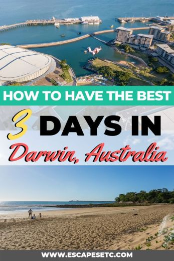 Are you planning a weekend in Darwin? This city is definitely the most underrated city in Australia! Here's my guide to spending 3 ays in Darwin including the top things to do in Darwin and where to eat in Darwin #darwinaustralia #darwinnorthernterritory #darwin #visitdarwin #australia #roadtripaustralia #backpackingaustralia