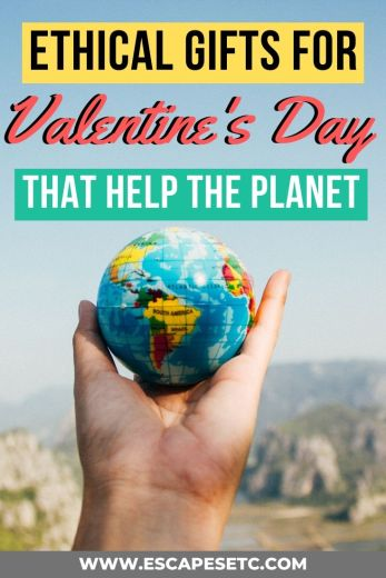Looking for a Valentine's gift with a difference this year? Swap out the usual buying of 'stuff' and take a look at these 10 Ethical Valentines Gifts that give back to the planet and people this year. #valentinesgifts #giftsfortravellovers #valentinesday #ethicatravel #sustainabletravel #ecofriendlygifts #sustainablegifts