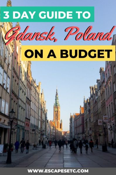 Looking for a beautiful city to visit in Europe in winter? Gdansk in Poland is a hidden gem! A weekend in Gdansk is the perfect Europe winter destination. Here's how to spend 3 days in Gdansk in winter including my Gdansk itinerary, things to do in Gdansk in winter, where to eat in Gdansk and where to stay. Take a look here! #gdansk #visitgdansk #bestplacesineurope #winterdestinations #visitpoland