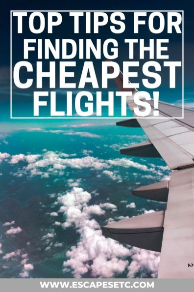 Looking for the best way to book cheap flights online? It doesn't matter if you're travelling on a long or short flight, there are tonnes of ways to make it cheaper. Here are 25 tips on how to find the cheapest flights to anywhere in the world including the best websites for booking cheap flights, the cheapest time to book flights, points travel and lots more #cheapflights #flighthacks #cheapairfare #bookcheapflights #findcheapfllights