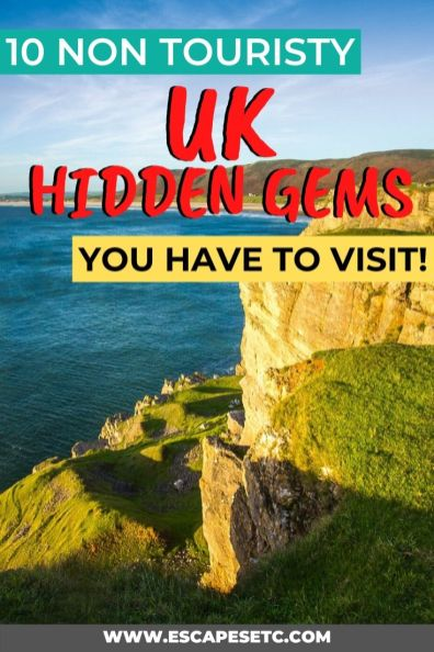 Wanting to see something different in the uk besides London? Here are 10 incredible and non touristy places to visit in the UK! #visittheuk #ukdestinations #visitengland #visitscotland #offthebeatenpathuk