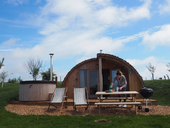 Tapnell Farm Modulog Isle of Wight Glamping