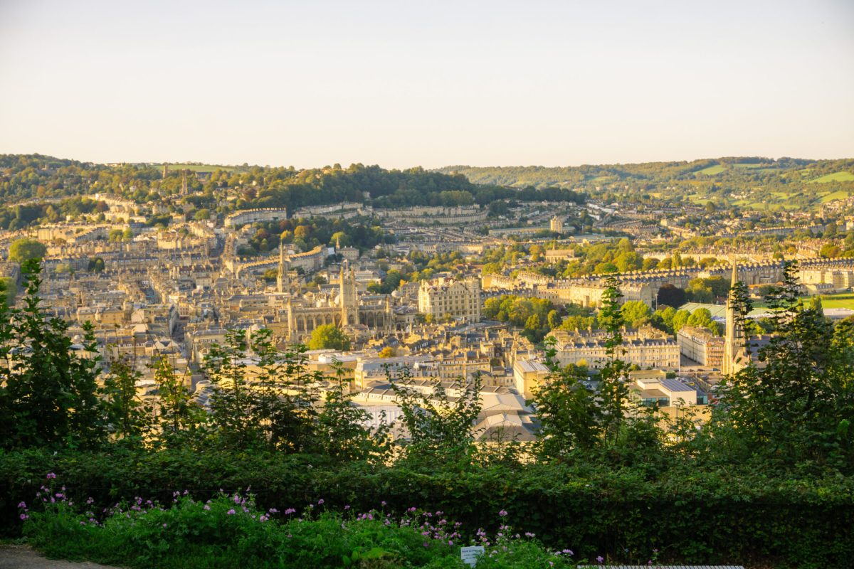 Alexandra Park viewpoint in Bath