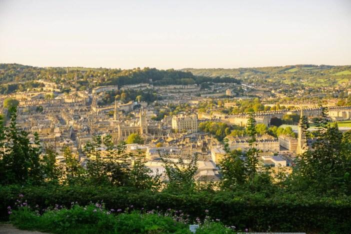 Alexandra Park viewpoint in Bath