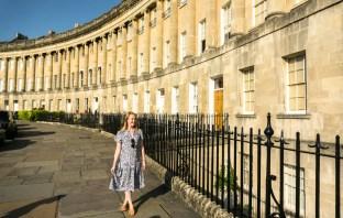 The Royal Crescent, Bath UK
