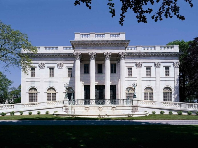 (Marble House, inspired by The Petit Trianon at the Palace of Versailles)