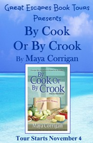 by cook or by crook  SMALL BANNER