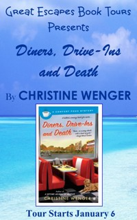 DINERS DRIVE IN DEATH SMALL BANNER