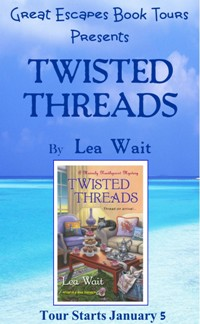 TWISTED THREADS SMALL BANNER