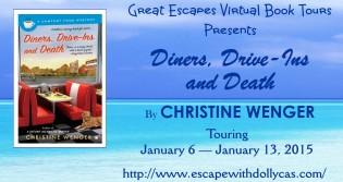 great escape tour banner large DINERS DRIVE INS DEATH315