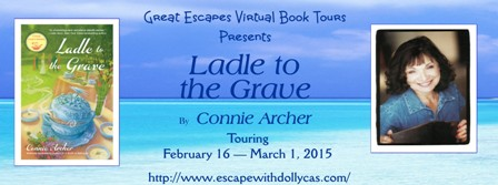 great escape tour banner large ladel to the grave448