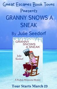GRANNY SNOWS A SNEAK SMALL BANNER