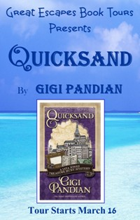 QUICKSAND SMALL BANNER