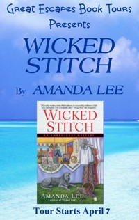 wicked stitch SMALL BANNER