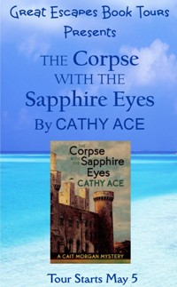 CORPSE SAPPHIRE EYES SMALL BANNER