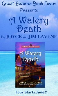 A WATERY DEATH SMALL BANNER