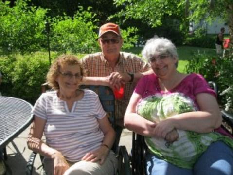 Bob, LueAnn & me!