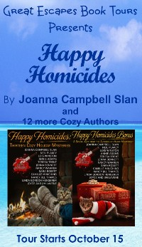 HAPPY HOMICIDES SMALL BANNER