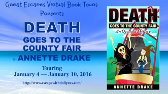 DEATH GOES TO THE COUNTY FAIR large banner331