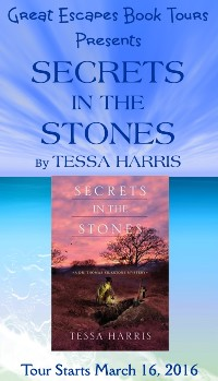 SECRETS IN THE STONES small banner