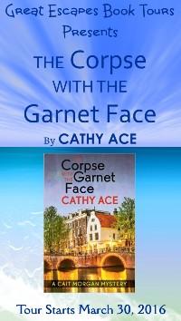 corpse garnet face small banner