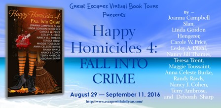 HAPPY HOMICIDES fall into crime large banner448