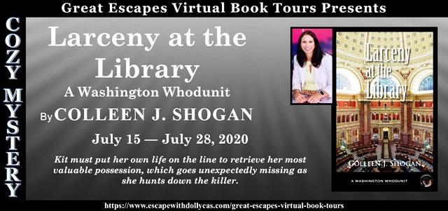 Larceny at the Library (A Washington Whodunit) by Colleen Shogan ...