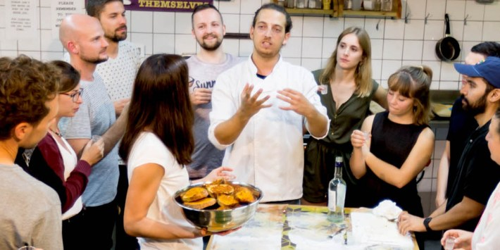 Israeli Cooking Workshop In Tel Aviv