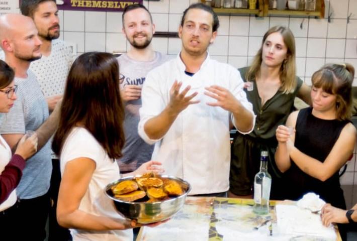 Israeli Cooking Workshop In Tel Aviv