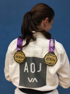 Chelsea winning double gold at the London Open in 2016