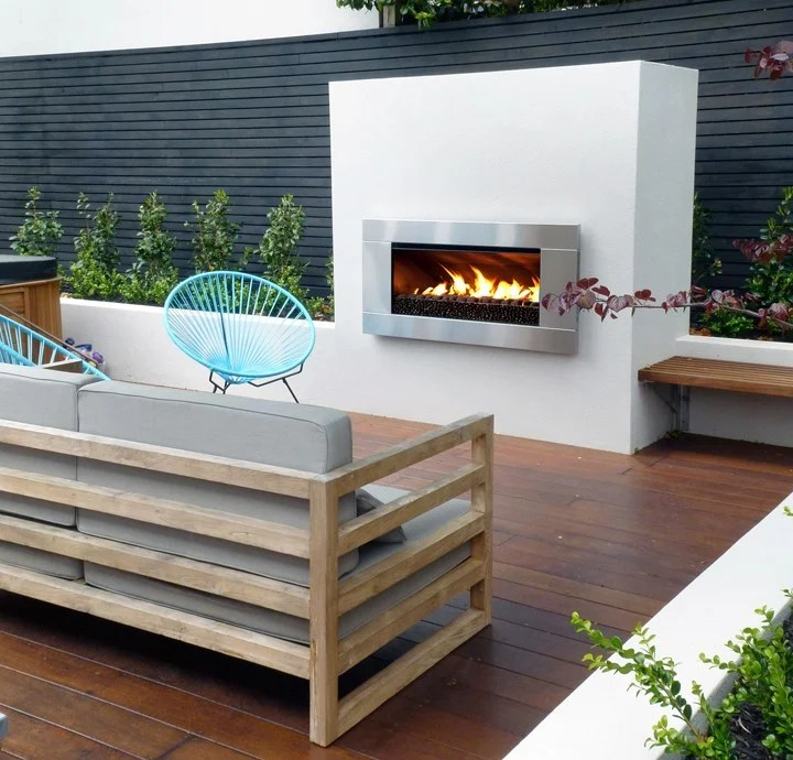 Outdoor Patio Gas Fireplace on Outdoor Gas Fireplace For Deck id=19376