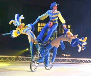 Moscow circus on ice 1