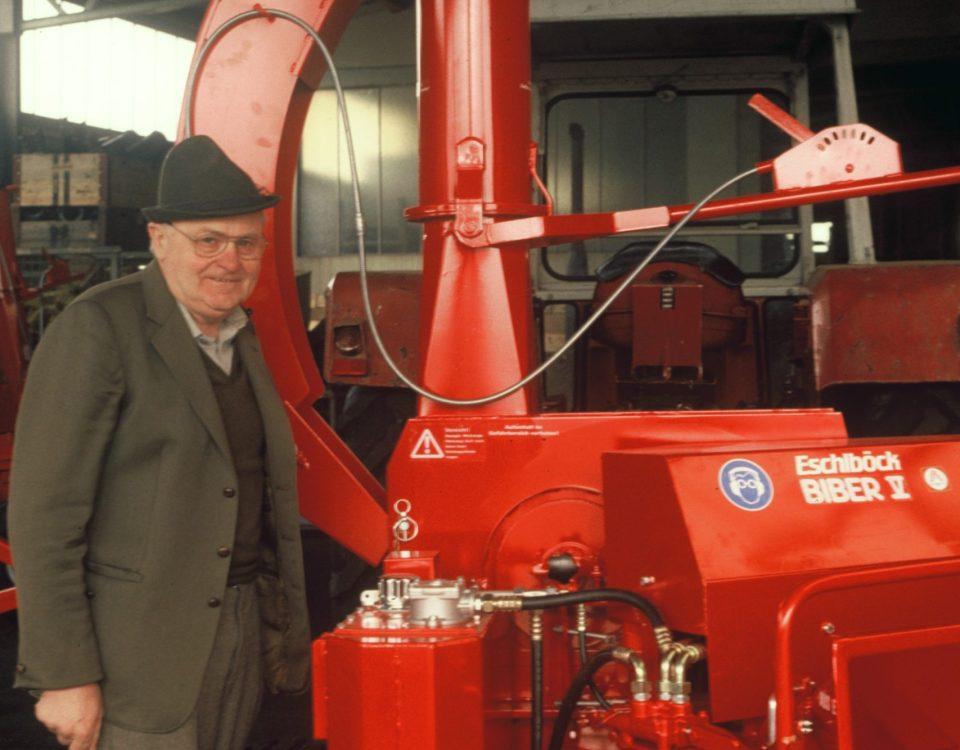 Firmengründer Rudolf Eschlböck