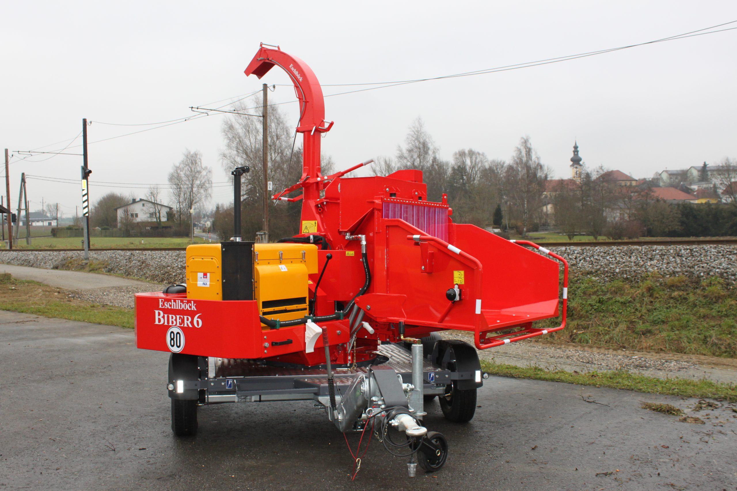 Eschlböck Biber 6 Holzhackmaschine