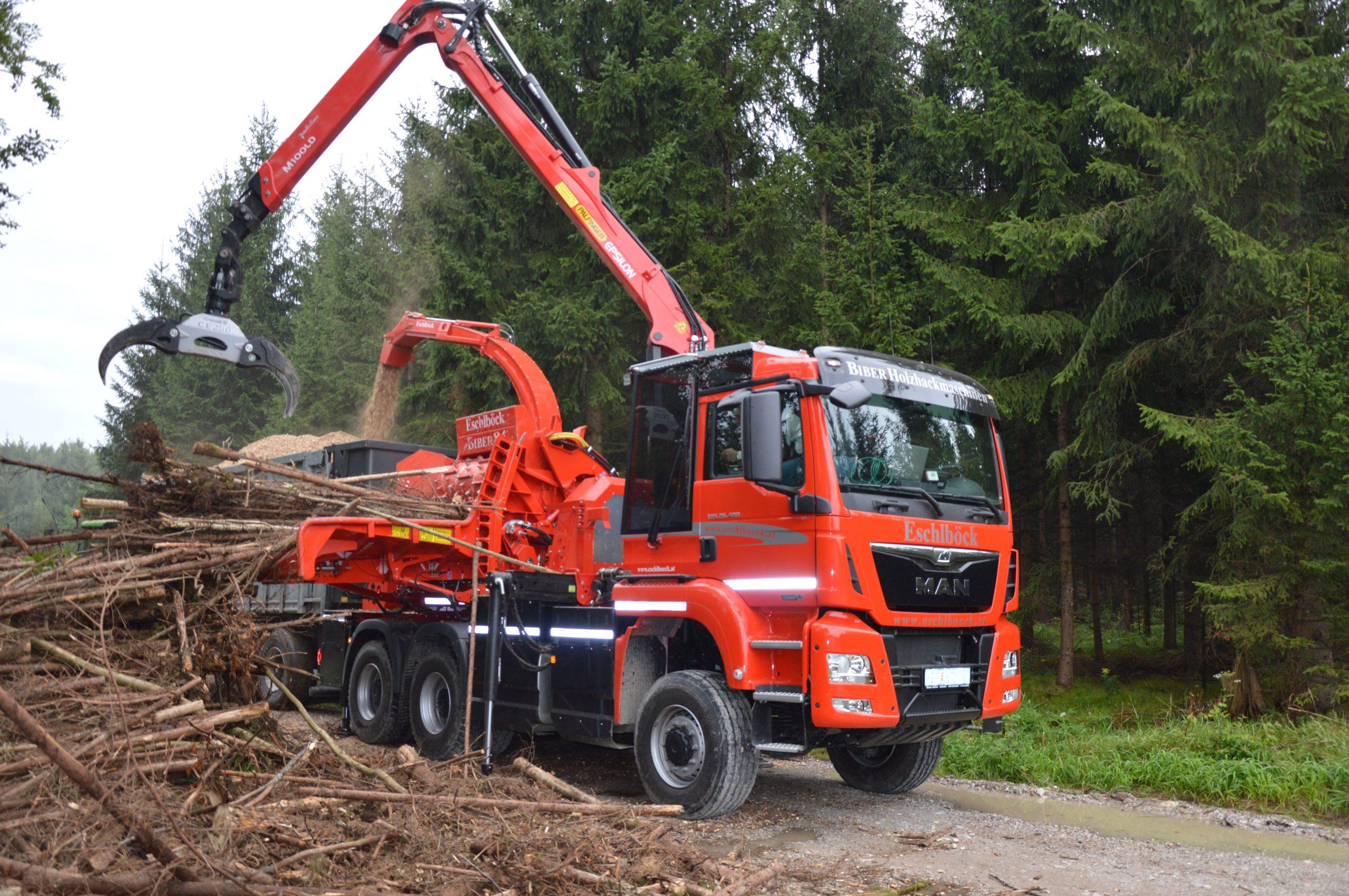 Eschlböck Biber 84 RBZ Holzhackmaschine