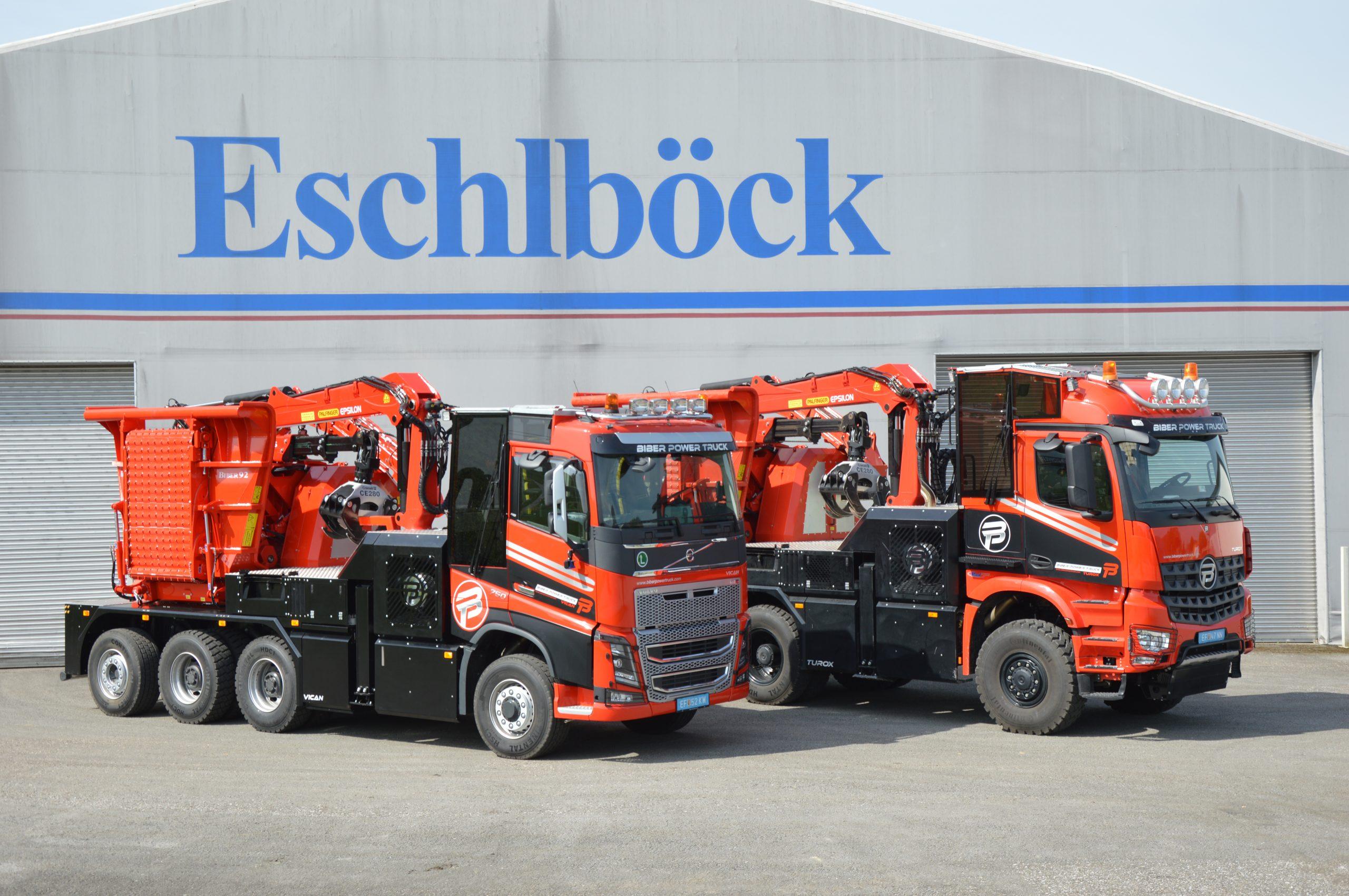 Eschlböck Biber 92 BPT Holzhackmaschine