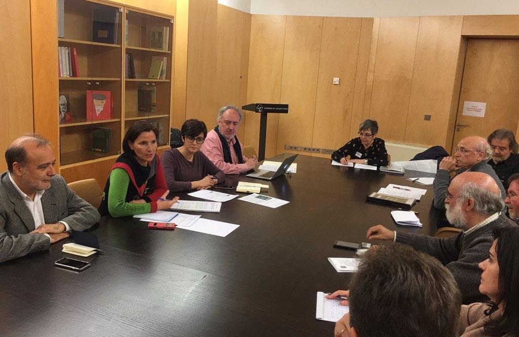 Encuentro del Foro de Sevilla con el Grupo Socialista de la Comisión de Educación del Congreso de los Diputados