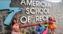 Atividade na American School of Recife