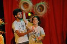 Culminância do Curso de Iniciação às Artes Circenses 2016.2