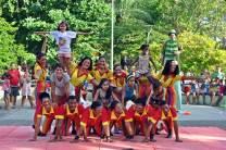Apresentação de Pirâmides no Parque da Jaqueira
