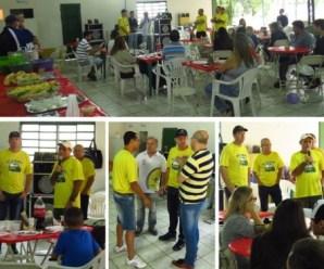 Diretoria da Artesul participa da festa de confraternização da ACOTEMA