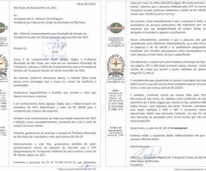 ARTESUL entra com pedido de suspensão do Credenciamento do Vai e Volta