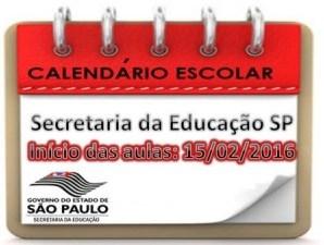 Secretaria Estadual de Educação divulga o calendário escolar de 2016