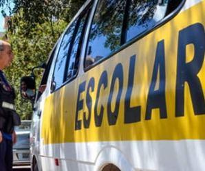 Fiscalização do Detran mira em transportes escolares